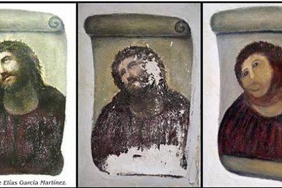 """La autora del 'apaño' del Ecce Homo: """"Todavía no había terminado la pintura"""""""