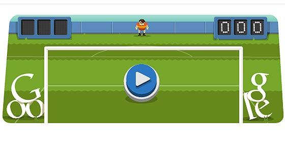 Londres 2012, fútbol: aprende a jugar al nuevo doodle interactivo de Google