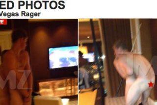 TMZ pilla al príncipe Harry en pelotas de resacón en Las Vegas