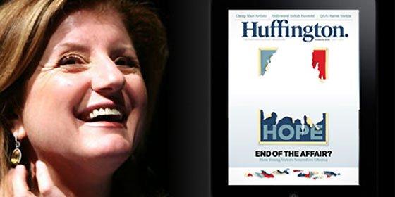 Arianna Huffington recula y deja de cobrar por su revista para el iPad