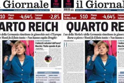 Alemania enfurecida con la portada italiana del 'Cuarto Reich'