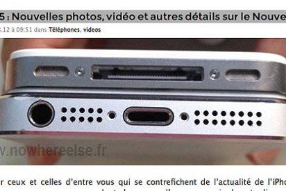Se filtran nuevas imágenes del iPhone 5, pero esta vez también despiezado