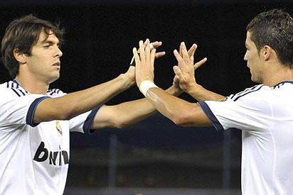 El Real Madrid mete una 'manita' al Milan y Kaká se exhibe ante su posible futuro equipo