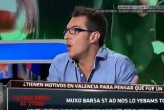 """Fran Guaita (SER, Valencia) la toma con Miguel Serrano (Futboleros): """"Hay tontos, tontos de baba, y el 'Látigo' Serrano"""""""