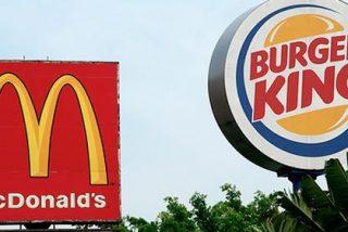 McDonald's y Burger King trasladan su lucha al servicio de comida a domicilio