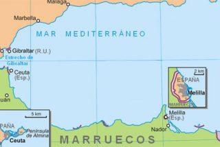Un centenar de inmigrantes asaltan la valla fronteriza de Melilla