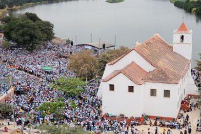 Medio millón de fieles católicos peregrinan al 'Lourdes angoleño'