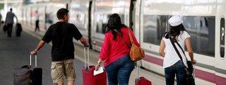 La huelga de Renfe y Adif paraliza 554 trenes de AVE y larga y media distancia
