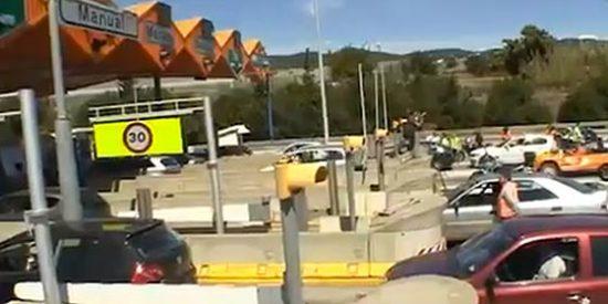 La crisis económica vacía un 30% las autopistas de peaje
