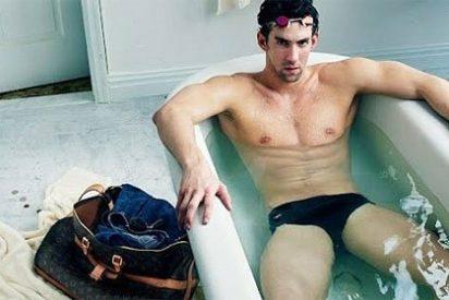 ¿Perderá Michael Phelps sus cuatro oros y dos bronces de Londres 2012 por posar para Louis Vuitton?