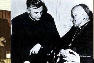 Ratzinger objetó cinco de los siete esquemas fundamentales del Concilio