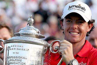 El norirlandés Rory McIlroy consigue su segundo 'grande' y el liderato mundial