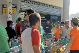 Llega el efecto Gordillo: veinte jóvenes asaltan un supermercado en Sevilla y se llevan whisky y un jamón