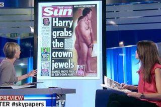 'The Sun' burla brillantemente la prohibición de publicar las fotos de Harry