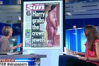 'The Sun' burla brillantemente la prohibición de publicar las fotos de Harry