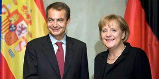 """La última ocurrencia de Zapatero: """"Invitaría a Merkel a pasar unos días de descanso conmigo en Lanzarote para dialogar"""""""