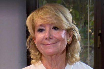 Esperanza Aguirre se une a la extensa lista de políticos españoles contagiados por el coronavirus