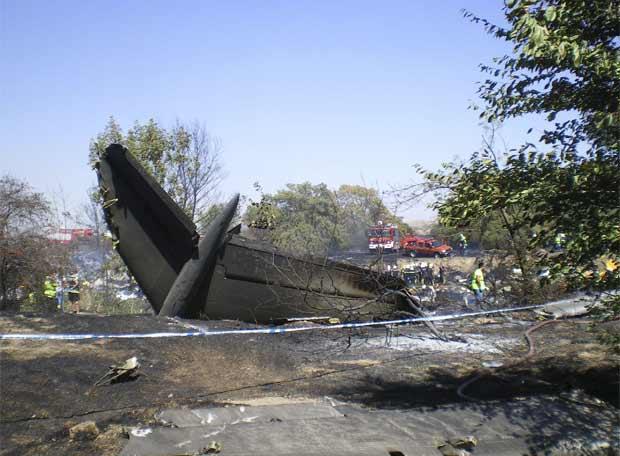 Las víctimas del accidente de Spanair llevarán su caso a la Unión Europea
