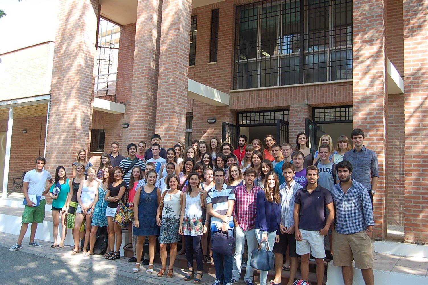 Más de 80 alumnos internacionales comienzan el curso en ETEA