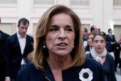 """Ana Botella da pistas a los muñidores de la """"nueva leyenda negra"""""""