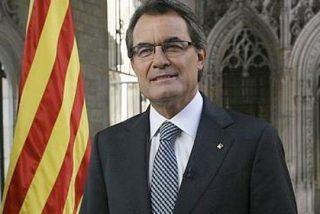"""La pancarta que faltó en la Diada: """"Cataluña, colonia de Europa"""""""
