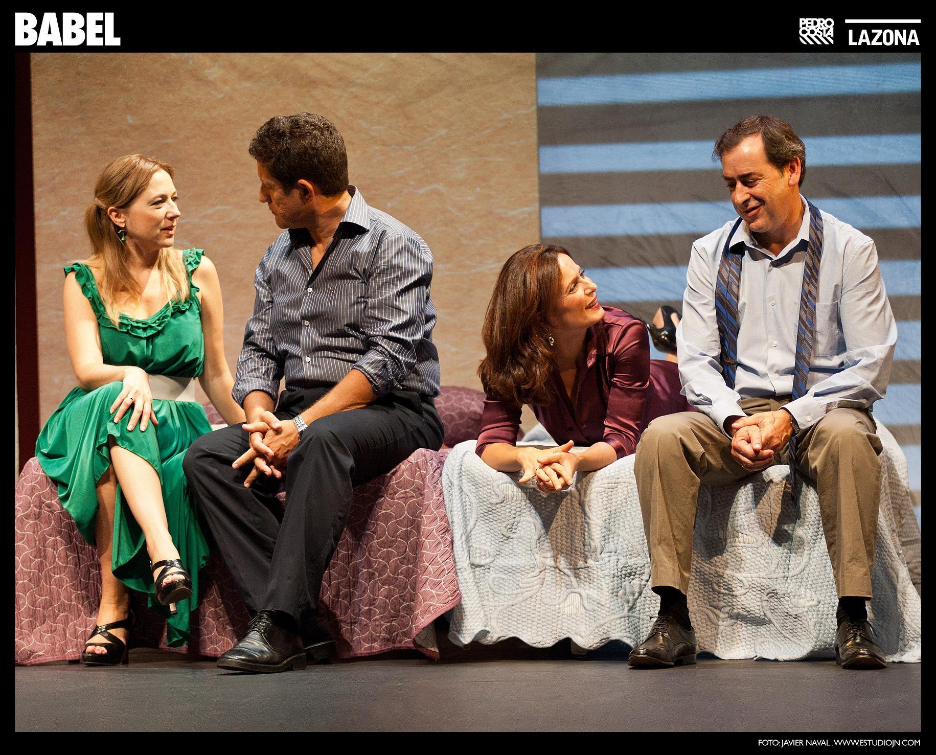 'Babel', teatro mayúsculo en el Marquina