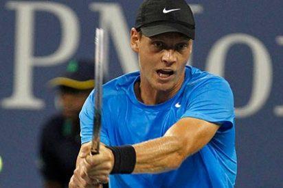 Berdych elimina a Federer y jugará las semis del Open USA con Murray