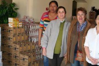 Alimentos por flores en la diócesis de Sevilla