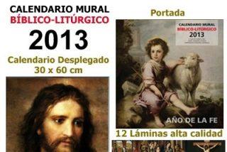 Calendario mural bíblico-litúrgico 2013