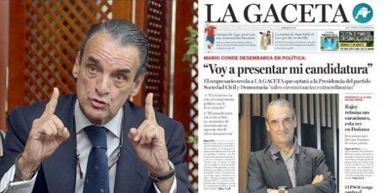 Conde ya tiene su primer apoyo mediático: el periódico La Región de Orense