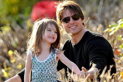 El actor Tom Cruise no visita a su hija Suri desde hace 49 días
