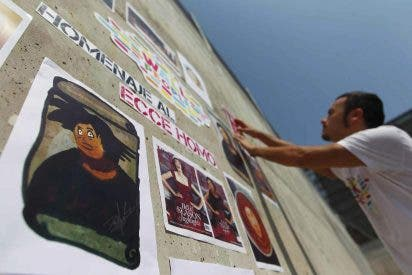 El eccehomo de Borja convertido en Warhol, Klimt o Leonardo en una exposición