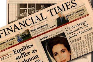 El 'Financial Times' critica al Rey de España y trata de dar lecciones a Rajoy