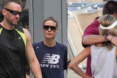 Para consolarse del divorcio, Heidi Klum le pega al sexo con su entrenador