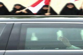 Multitudinario recibimiento al Papa en Beirut