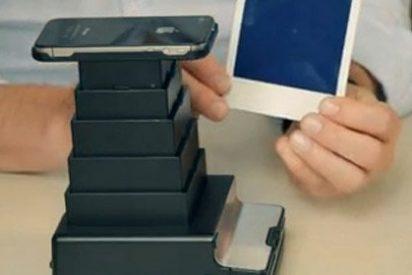 Una 'app' permite revelar las fotos del iPhone al mítico estilo Polaroid