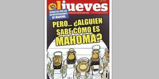 """""""El Jueves"""" también lleva a su portada una caricatura de Mahoma"""