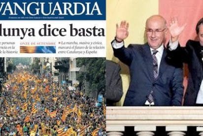 El PP no aprende: La Vanguardia reta a Rajoy con una portada secesionista
