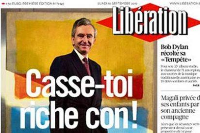 """El mensaje de 'Liberátion' al millonario Arnault: """"Pírate, rico de mierda"""""""