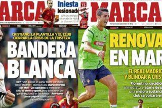 'Marca' le hace un lavado de imagen a Cristiano Ronaldo para reconciliarle con el madridismo
