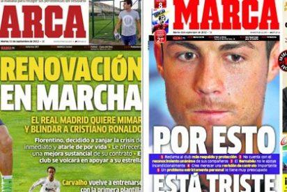 """Marca, en éxtasis tras descubrir que así se solucionará la tristeza de Cristiano Ronaldo: """"Renovación en marcha"""""""