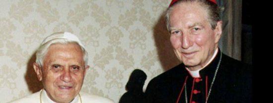 """Benedicto XVI: """"Martini ha servido generosamente al Evangelio y a la Iglesia"""""""
