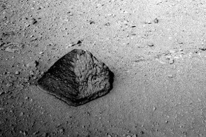 ¿Sabe qué es y quién hizo la roca en forma de pirámide de Marte?