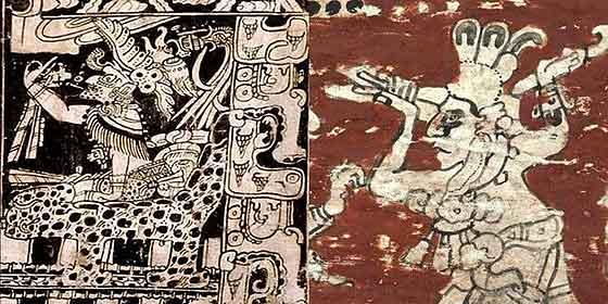 Un mural maya revela que el fin del mundo no será en 2012
