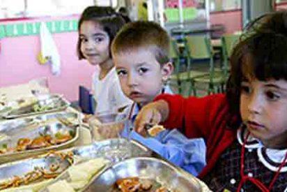 Los diputados comen por un euro menos que los niños en el colegio