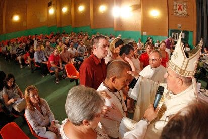 Osoro celebra la Merced con los reclusos de Picassent