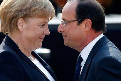 Merkel y Hollande instan a Europa a avanzar en la integración contra la crisis