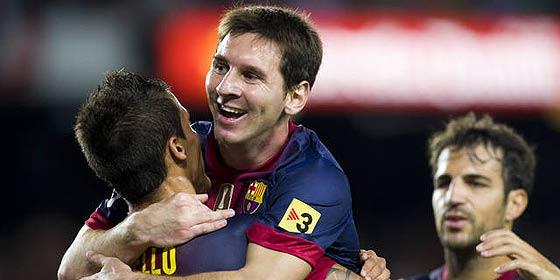 Leo Messi tapa las carencias del Barça para imponerse al Spartak en el Camp Nou