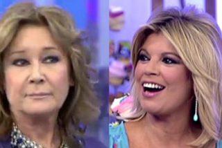 Por una metedura de pata se descubre que Mila Ximénez se ríe de Terelu Campos a sus espaldas