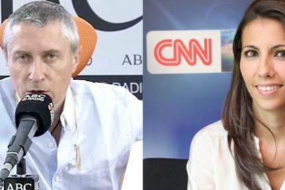 "Miralles bombardea el fichaje de Ana Pastor por CNN: ""Algún día contaré como se cargó a periodistas de su programa"""